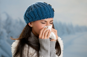 Winter flu and fever