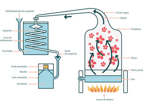 Distillation HE